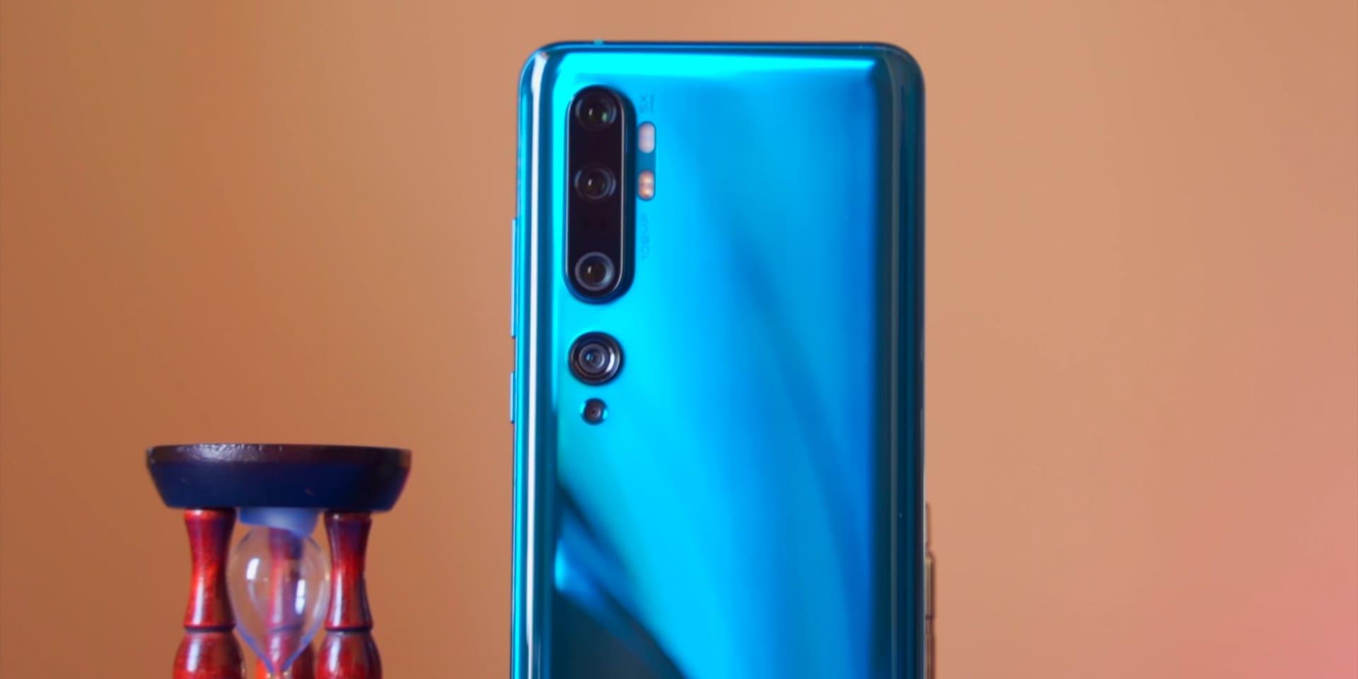 Xiaomi Mi Note 10 Pro задние 5 камер