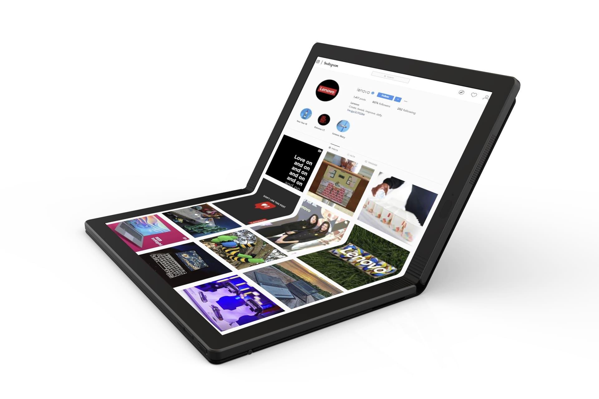 Складной ThinkPad X1 Fold