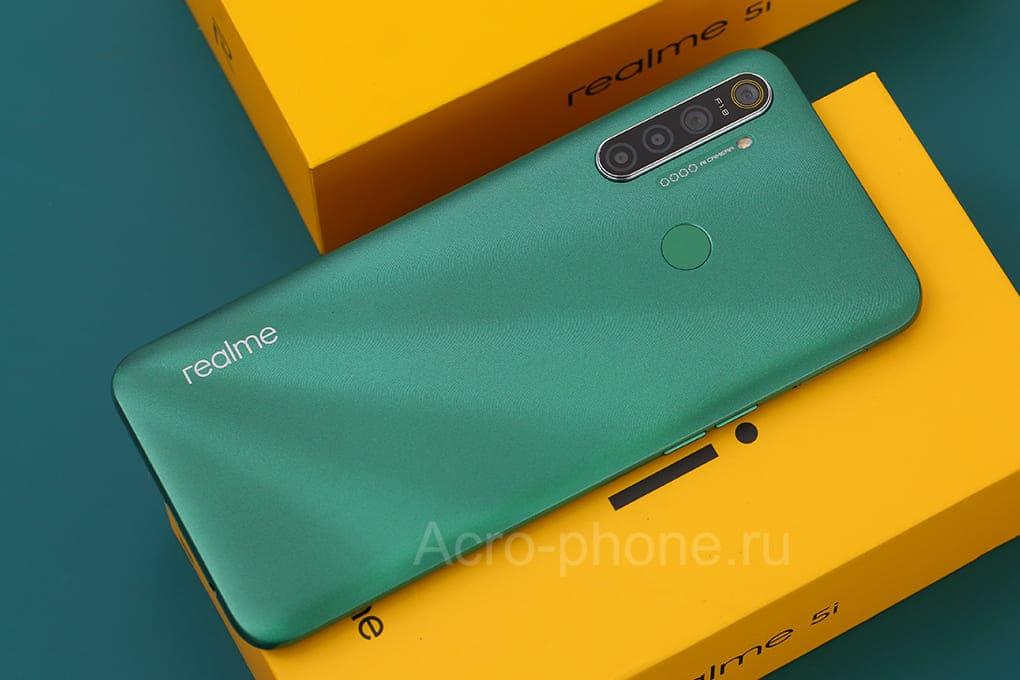 Realme 5i –новый зверь с 4 камерами и высокой автономностью