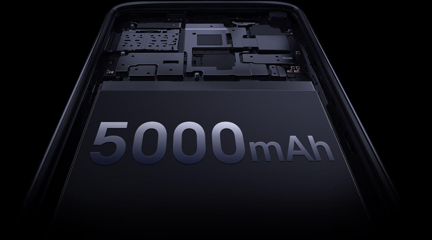 Батарея на 5000 мАч