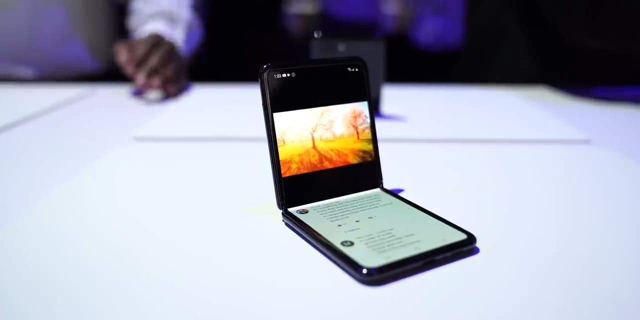 расскладушка Galaxy Z Flip