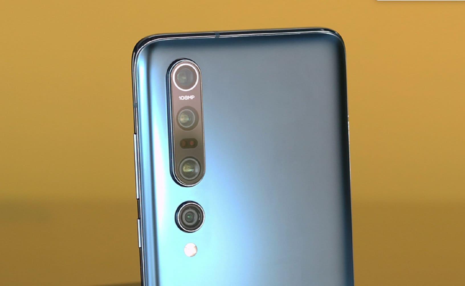 Камера смартфона 108 МП