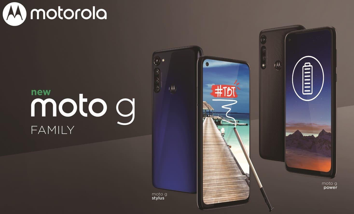 Moto G Stylus и Moto G Power: характеристики смартфонов с Max Vision