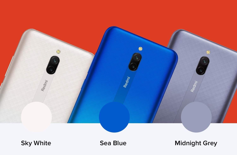Смартфон Redmi 8A Dual получил двойную камеру, 5000 батарею и скромный ценник