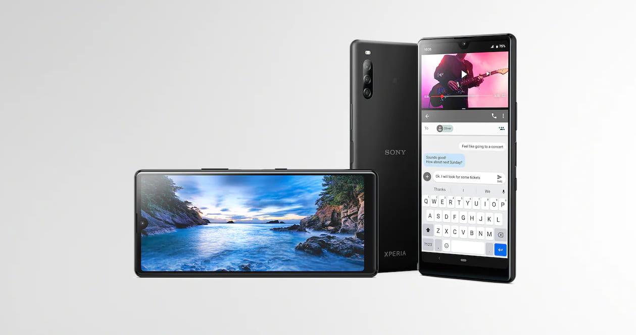 Первый смартфон Sony в 2020 году: Xperia L4 - большой и бюджетный