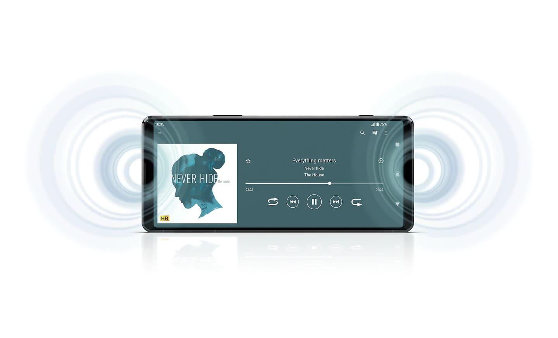 Xperia 1 Soung Stereo