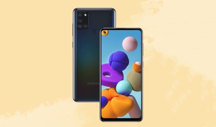 Samsung Galaxy A21s с 6,5-дюймовым Infinity-O дисплеем, 48 МП квадрокамерой, 5000 мАч батареей представлен официально