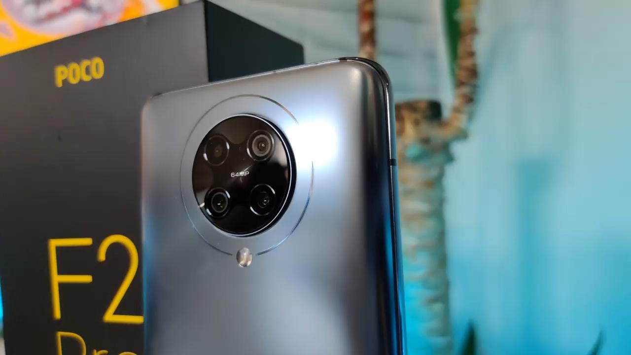 камера xiaomi Poco f2 pro