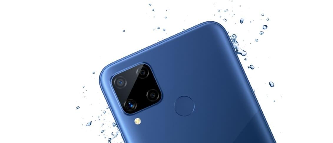 Целая пачка новых смартфонов: первый уже выпущен, это - realme C12