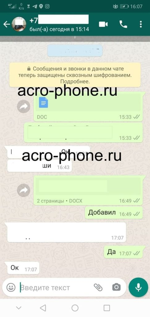 СТатус в whatsapp