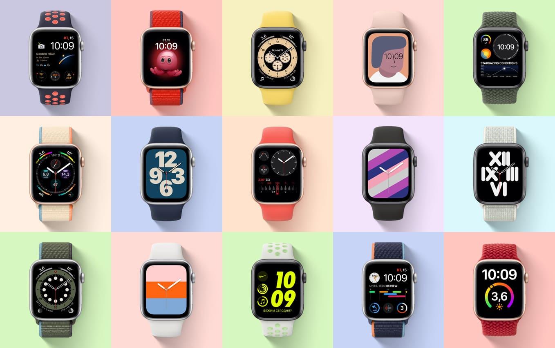 часы Apple Watch se циферблаты все