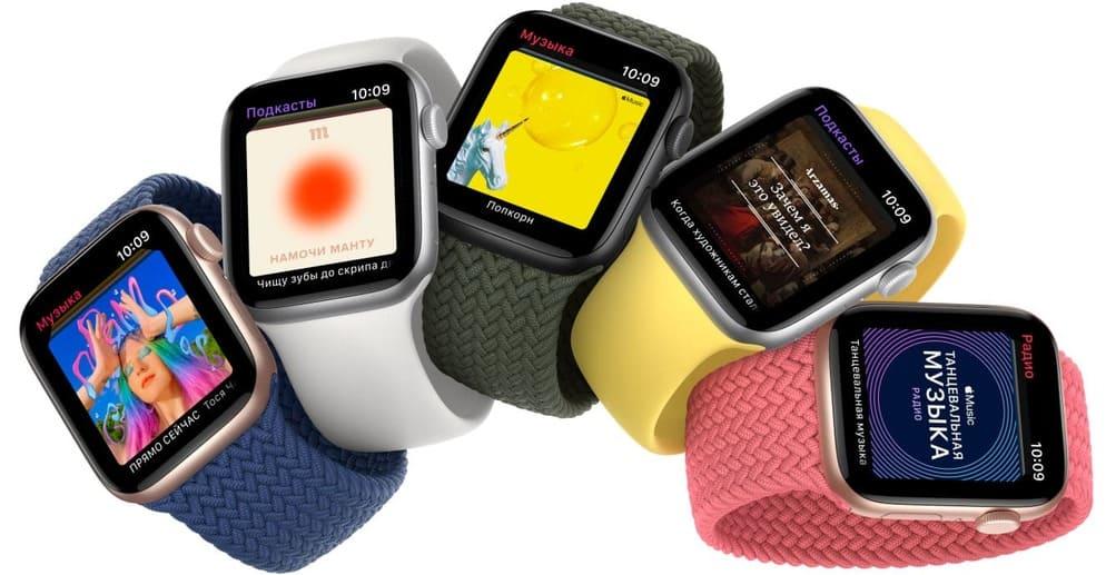 Apple Watch SE: новые умные часы из экоматериалов