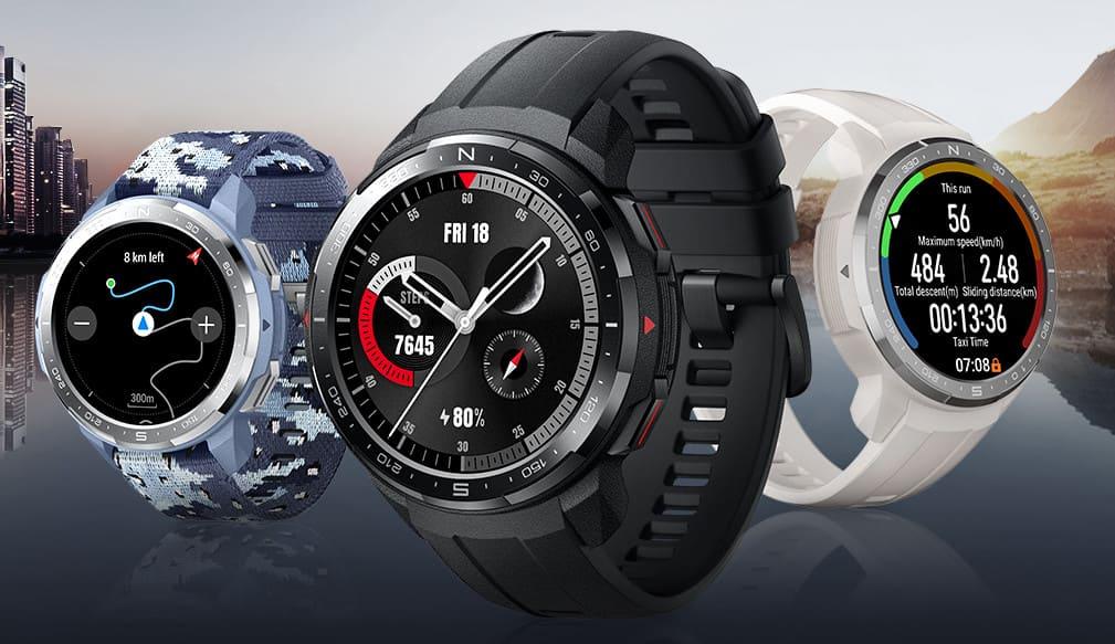 Honor Watch GS Pro представлен с 1,39-дюймовым AMOLED-дисплеем, проработает до 25 дней на одном заряде